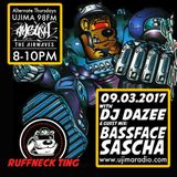 The Ruffneck Ting Takeover Ft Dazee and Guest Mix Bassface Sascha 9th March 2017
