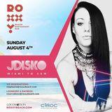 JDisko - LIVE from ROXXY Beach in St. Maarten