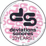 10 years birthday Déviations Sonores @ La Petite Chaufferie (Paris) 17.05.2014