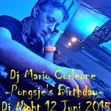 Dj Mario Corleone live Pongsje's Birthday @ Dj Night Popcornmusic Store 12 Juni 2015