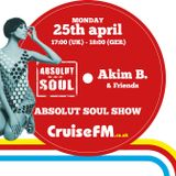 Absolut Soul Show /// 25.4.2016 on cruiseFM