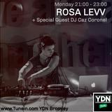 Hip Hop & Life Lessons Ep 2. Rosa Levv W/ DJ Caz Coronel