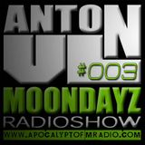 AFM.Radio MoonDayz RadioShow By Anton VL  Episode#003 (21.May.2014)