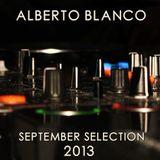 Alberto Blanco - September Selection / 2013