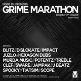 22/01/2017 - Spooky B2B J Beatz B2B Sware B2B Juzlo B2B Scope - Grime Marathon - Mode FM (Podcast)
