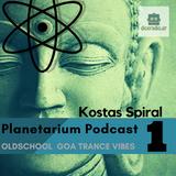 KOSTAS SPIRAL - Planetarium Podcast 01 (MIXTAPE)