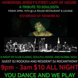 """A TRIBUTE TO JERSEY'S FIRST LADY OF HOUSE """"SOULSISTA"""""""