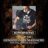 Sorgenkind - Genozid Core Massacre Promo Set 2016