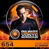 Paul van Dyk's VONYC Sessions 654 - AJ Gibson
