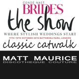 Conde Nast Brides The Show, London October 13. Classic