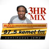DJ SILKY D NEW YEARS DAY 3HOUR MIX ON 97.5 KEMET FM 2017