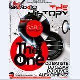 dj alex gimenez the one  remember skandalo 11 1 2014