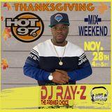 DJ RAY-Z HOT97 THANKSGIVING WEEKEND MIX 11:28:19