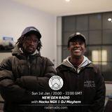 New Gen Radio w/ Hacko NGX & DJ Mayhem - 1st January 2017