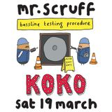 Mr Scruff & MC Kwasi, London Koko, 19th March 2016