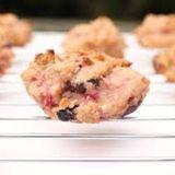 Fierce Raspberry Biscuits