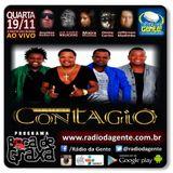 Grupo Contagio - AO VIVO - Rádio da Gente - Programa Boca de Graxa