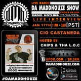 Da Maddhouze sits down with Cio Castaneda on KPOO 89.5 FM