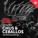 WEEK44_18 Chus & Ceballos Live from ADE 2018 (NL)