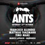 Francisco Allendes - Live @ Ants By 5unsent Events, Parque Titanium (Santiago, CHI) - 27.10.2018