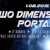 SEC7OR Live @ TWO DIMENSIONAL PORTAL at FABRICA 126, Sofia, 01.08.2015