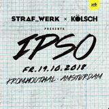 Kolsh - Live @ Ipso Party at ADE 2018, Festival De Kromhouthal (Amsterdam, NL) - 19.10.2018