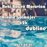 Reki Bazen Moravica - Arnold Golmajer b2b Dubline 2017.08.05