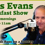 Russ Evans Breakfast Show Last Hour Sunday 12th Dec 2016