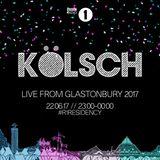 Kölsch - BBC Radio 1 Residency 2017.06.22. (Live @ Glastonbury)