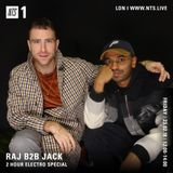 Raji Rags & Jackmaster: Electro Special - 23rd February 2018