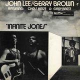 """John Lee & Gerry Brown - """"Infinite Jones"""" - Infinite Jones LP (1973)"""