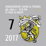 @ X-Fade DJ-Night - 04.07.17 ls Fisherman, Rall-Fi, Toppa & Father Felix