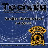 Sander Bottaio live @ Techniq 1-4-2015
