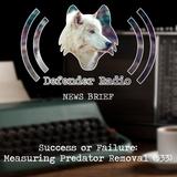 NEWS BRIEF - 533: Success or Failure: Measuring Predator Removal