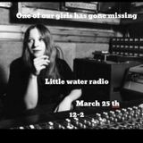 One of our girls has gone missing #7 Little water radio guest Artist/DJ Hiro Kone
