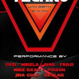 OLIVETRONIK@ event techno THE VIBE saturday,january28