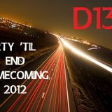 Party 'Til the End Homecoming Mix 2012