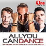 ALL YOU CAN DANCE By Dino Brown (13 Gennaio 2020)