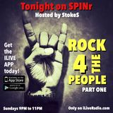 SPINr - ROCK 4 THE PEOPLE - Part One - OCT 2, 2016