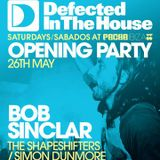 The Shapeshifters - Live @ Defected In The House, Pacha Ibiza Opening Party - 26.05.2012