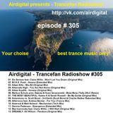 Airdigital - Trancefan Radioshow #305 2017-07-07