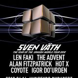 The Advent @ Hyperspace 12.04.14, Budapest, Hungary