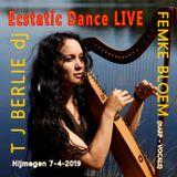 Ecstatic Dance No.39 │ LIVE with FEMKE BLOEM (Harp & Vocals) vs T J BERLIE dj