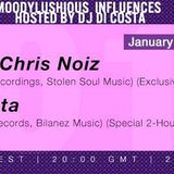 MoodyLushious Influences Episode 33 (January 2014 Edition) (Back2Back Set by Di Costa & Mytko (RDV))