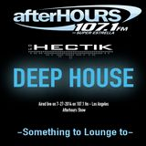 Dj Hectik - 107.1 fm -Afterhours mix show - July 2014