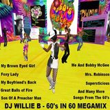 DJ Willieb - Megamix 60 in 60's (Section Oldies)