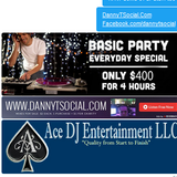 New Years Dance House Party Mix! www.DannYTSocial.com #AceDJEntertainement