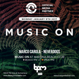 Neverdogs live @ Music On at Martina Beach Club,BPM 2017 (Playa del Carmen,Mexico) 09 /01/2017