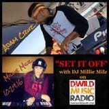 Millie Milz & Adam Cruz Set It Off 10 29 16 LIVE