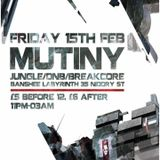 Live Set - Mutiny Edinburgh 15/02/13